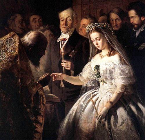 Венчальное платье Романтика