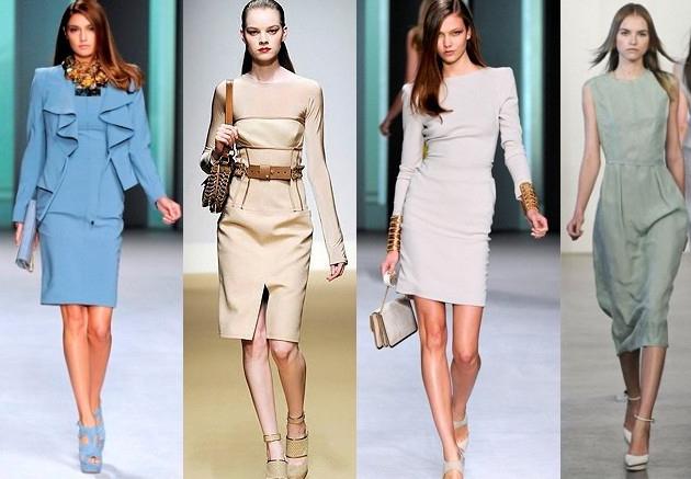 Как любая другая офисная одежда, деловые платья должны