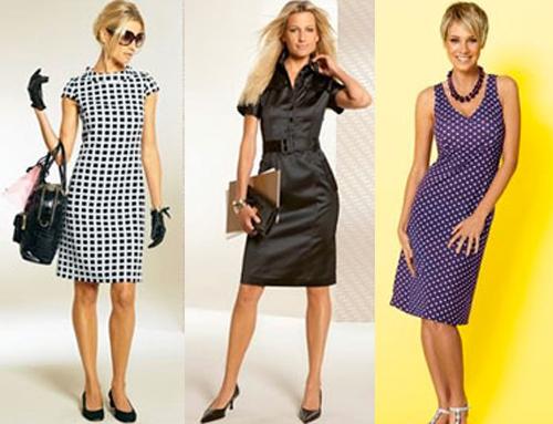 деловой стиль одежды для девушек.