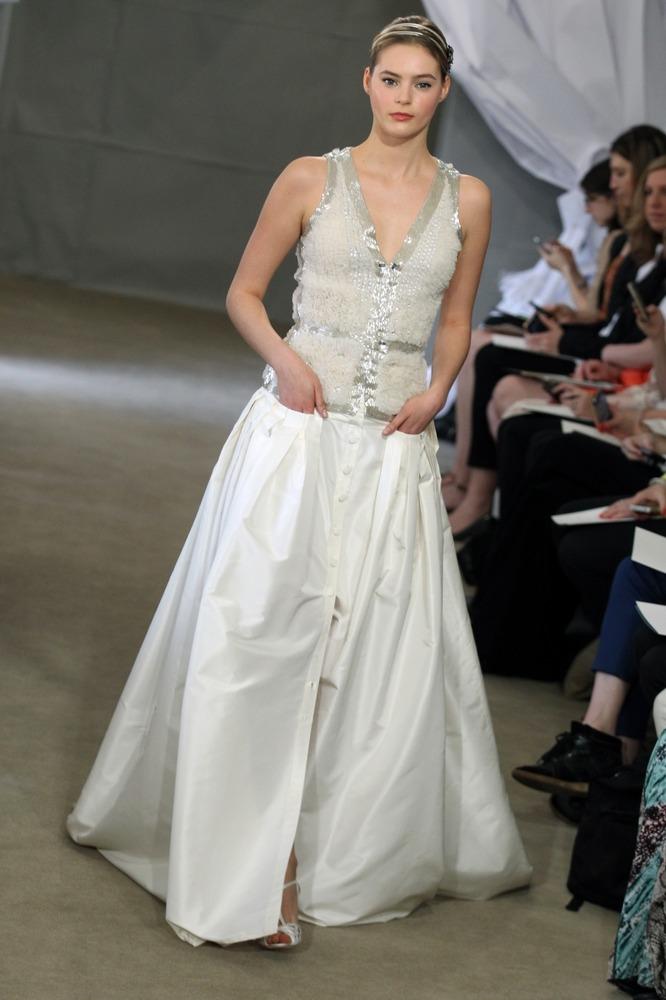 свадебное платье Каролины Херреры - 2013