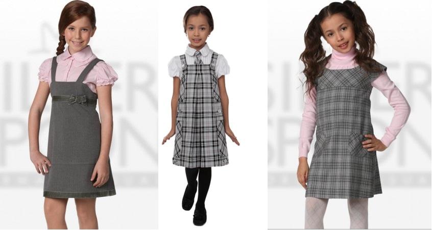 Как сшить школьное платье на девочку 318