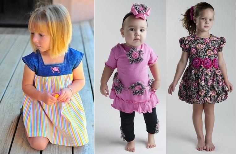 платья для девочек 2015: повседневные