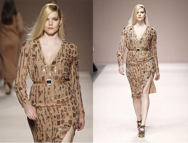 Одежда для полных женщин от Marina Rinaldi осень-зима 2012-2013