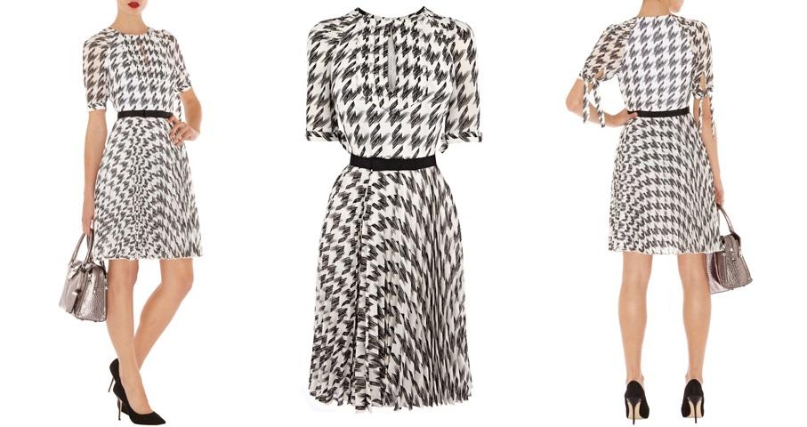 Платье Karen Millen в модный принт