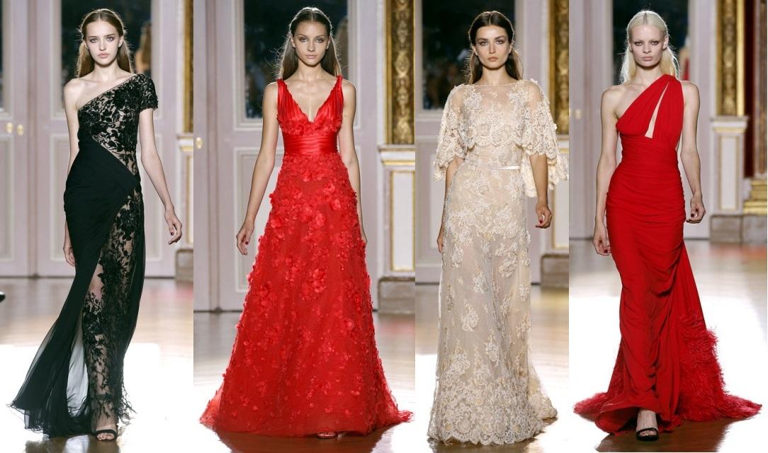 Самые красивые вечерние платья от zuhair