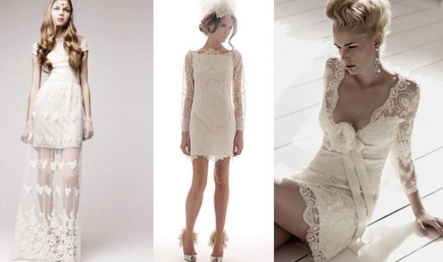свадебные платья кружевные фото 2