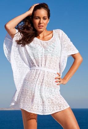 Летние платья белые