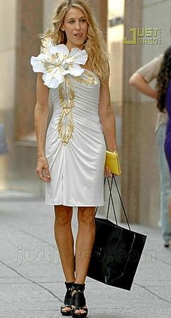 Банты из ткани на платье своими руками