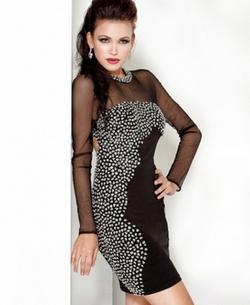 как украсить платье