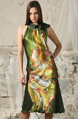 Шелковые Свадебное Платье 79