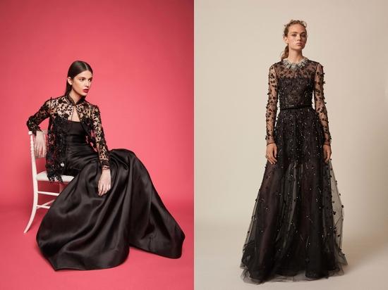 Платье оригинально и просто