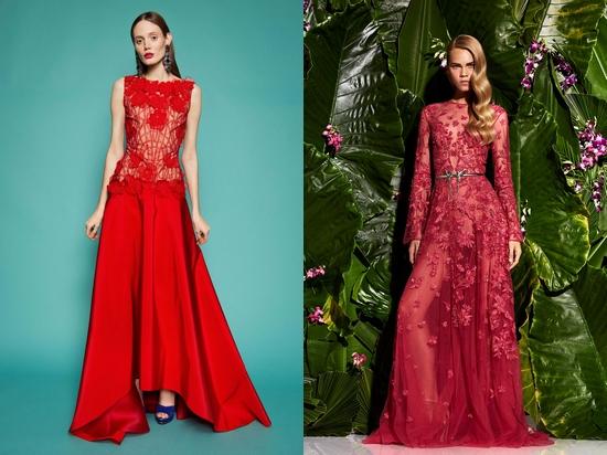 Платья длинные яркого цвета